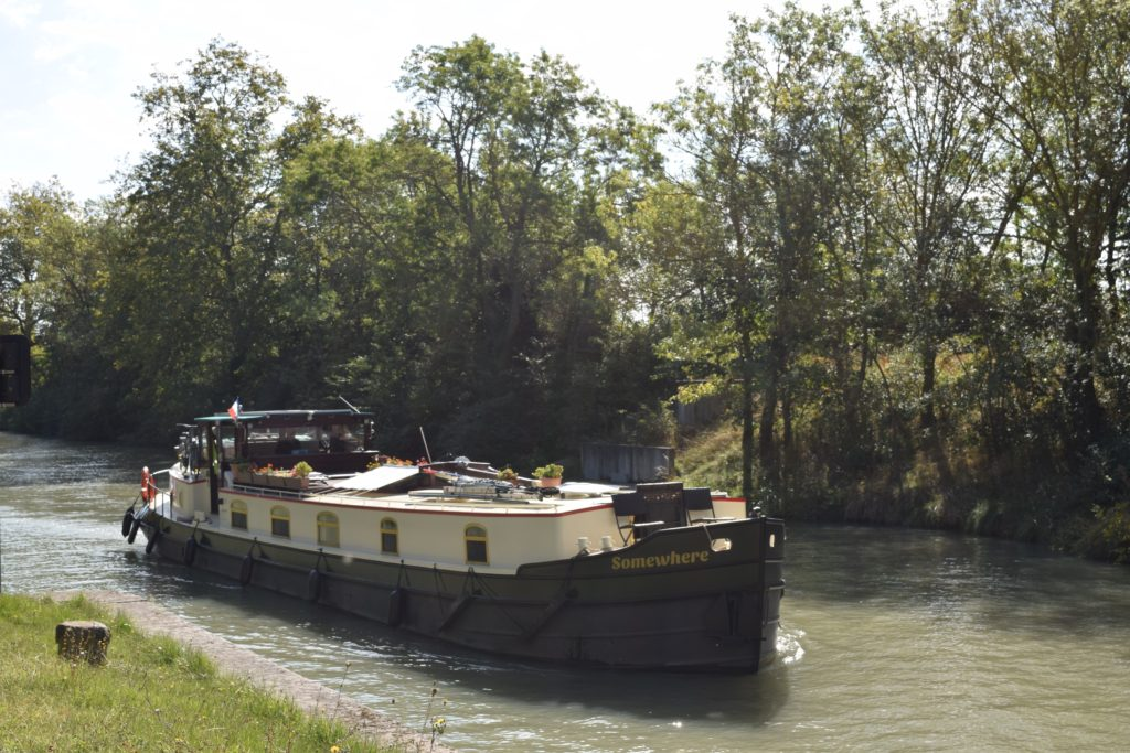 'Somewhere' on Canal du Midi near Pexoria